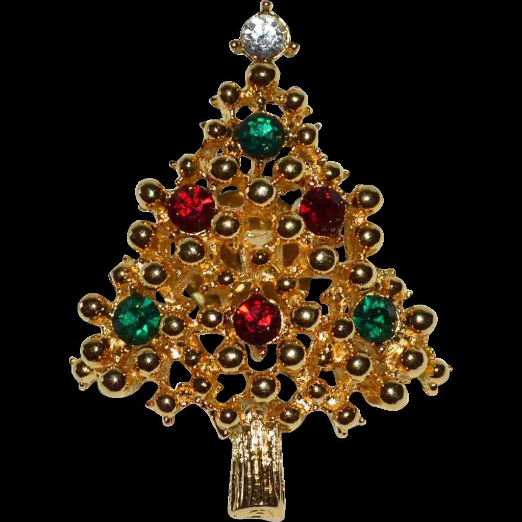 Vintage Christmas Jewelry Pins