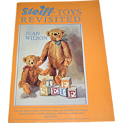 SALE 1989 Steiff Toys Revisited Softcover Book