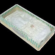 SOLD 1950s Lanokins Can Can Lace Waterproof Baby Panties in Original Box