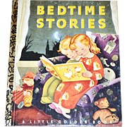SALE 1992 Bedtime Stories 50th Anniversary Little Golden Book