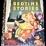 1992 Bedtime Stories 50th Anniversary Little Golden Book