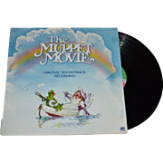SALE 1979 The Muppet Movie Original Soundtrack LP Record