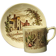 Johnson Brothers Demitasse Set, Haddon Hall