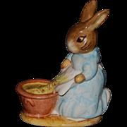 Beatrix Potter's Cecily Parsley, Figurine by Beswick