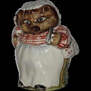 Beatrix Potter's Mrs. Tiggy Winkle, Figurine by Beswick