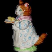 Beatrix Potter's Mrs. Ribby, Figurine by Beswick