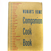 REDUCED Woman's Home Companion Cook Book Cookbook