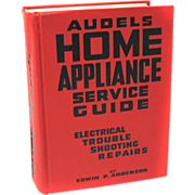 1954 Audels Home Appliance Service Repair Guide