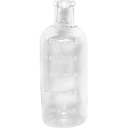 T.C.W. CO. Glass MIL bottle U.S.A. Wheaton