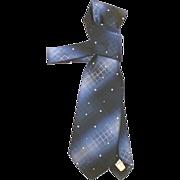 "4 1/4"" Polyester OLEG CASSINI Tie Burma For The London Shop NOS"