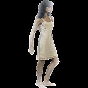 1940s Lady Lynne Tafredda Ecru Ladies Slip LOTS OF LACE! Size 36