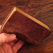 SOLD 19th Century Leather New Testament Bible, 1858