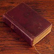 SOLD Early Vintage Leather Bound Paroissien De Rouen French Missal Prayer Book, Circa 1918