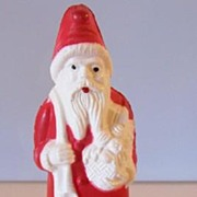 SALE Santa Figure Celluloid Cellulose Acetate Irwin