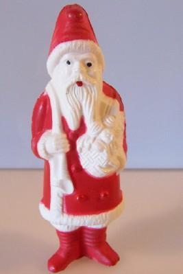 Santa Figure Celluloid Cellulose Acetate Irwin