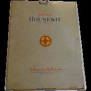 Johnson's Housekit First Aid Wall Hanger 1945