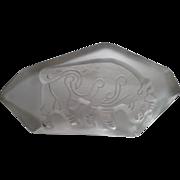 Strathearn Glass Paperweight Alasdair Gordon Bull 1975 Scotland