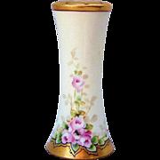 "SALE Gorgeous Favorite Bavaria Vintage 1900's Hand Painted ""Petite Pink Roses"" 5-1/4"