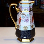 """SALE B & Co. France Exceptional 1914 White's Art Co. of Chicago """"Red Currant"""" 12-1/2"""