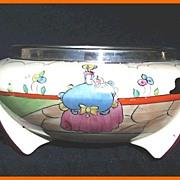 Clarice Cliff Bizarre Deco Applique Idyll Bowl 1932
