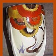 Clarice Cliff Deco Rhodanthe Large Vase