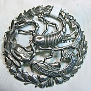 SALE Sterling Silver Scorpio Broach by Sellon