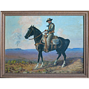 "SALE Ethel Irene Blandin 1887 - 1969 ""Indian Country, Sedona, AZ"""