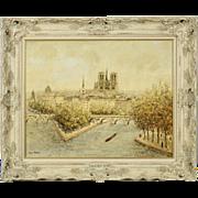 SALE Louis Payret School of ParisFine Quility Vintage Impressionist Painting