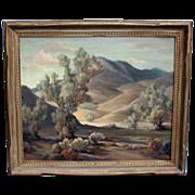 Orpha Mae Klinker Listed Large California Landscape