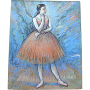"Louis Kronberg (1872-1965)   ""The Arabesque"""