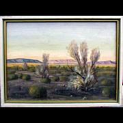 SALE Carl G. Bray Palm Springs Desert Landscape, California Artist