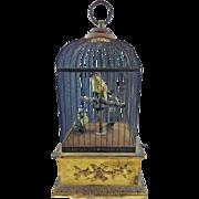 SALE Extra Large Antique Singing Birdcage Automaton Music Box French Bontems