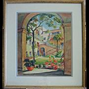 Original W/C by Orpha Klinker  (1891 - 1964)