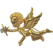 Cherub Angel Pin