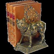 SOLD Bronze Bull Mastiff Dog Sculpture