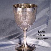 English Rowing Trophy Cup Bath Regatta 1874