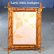 Aesthetic Movement Bronze Picture Frame