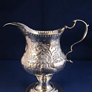 Antique English Sterling Silver Creamer - London 1779
