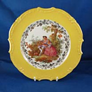 SALE Bavaria Germany  Porcelain Decorator Plate
