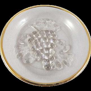 SALE Vintage Jelly Dishes, Set of 12, Sculptured Grape Design