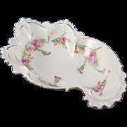 Art Nouveau Beautifully Shaped Floral Bowl