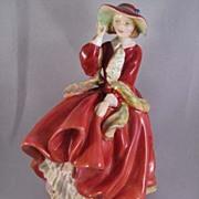 "SALE Royal Doulton ""Top O'The Hill"" No. 1834 Figurine"