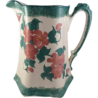 Pottery Pitcher Made by the Cash Family, Erwin, Tennessee 1945