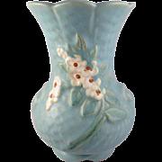 SALE Weller Art Pottery Delsa Vase 6 in.