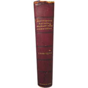 """Antique """"Gettysburg National Military Park Commission 1893-1904,"""" George E. Foss"""