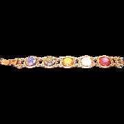 Vintage D&E Juliana Moroccan Matrix Celebrity Bracelet