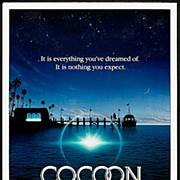 "Original Movie Poster ""Cocoon"" 1985 One-Sheet"