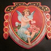 Vintage Valentine Featuring Cupid