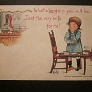 1903 Tuck Valentine Postcard by E. Curtis
