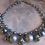 Vintage Bib Necklace Baubly Beads